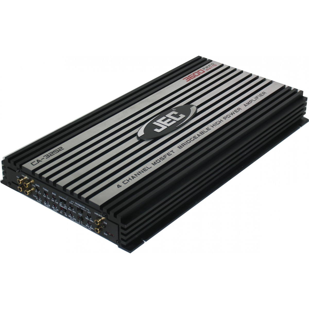 Mosfet High Power 4 Channel Car Amplifier Ca 3252 Products More Views