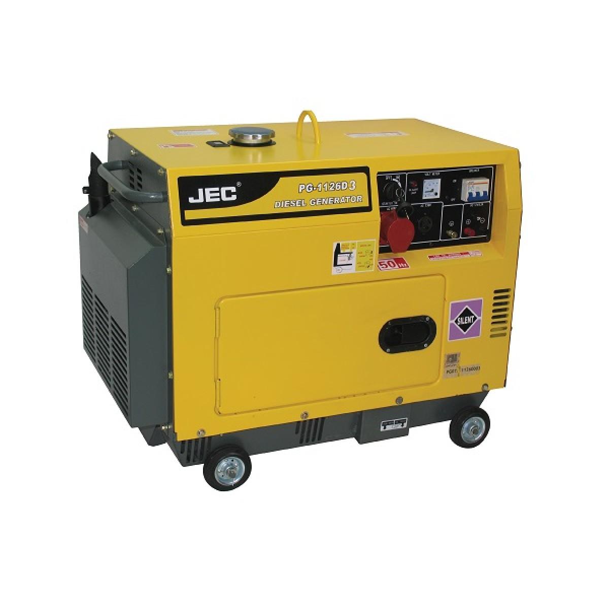 Three Phase 5 Kva Silent Type Diesel Generator Including