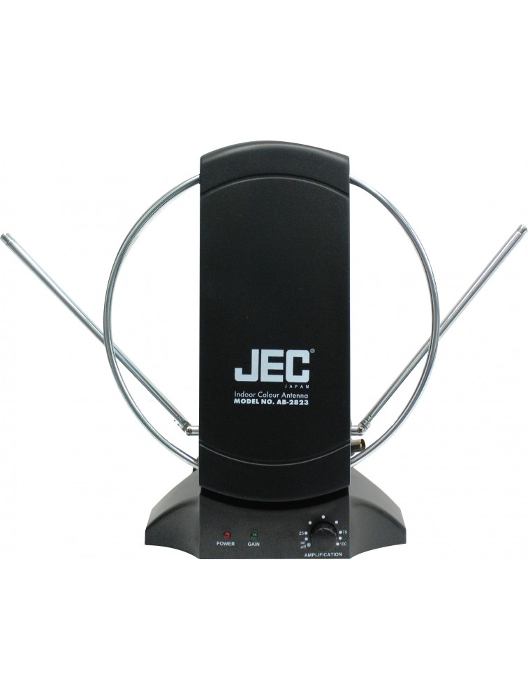 Indoor color antenna with powerful booster AB-2823
