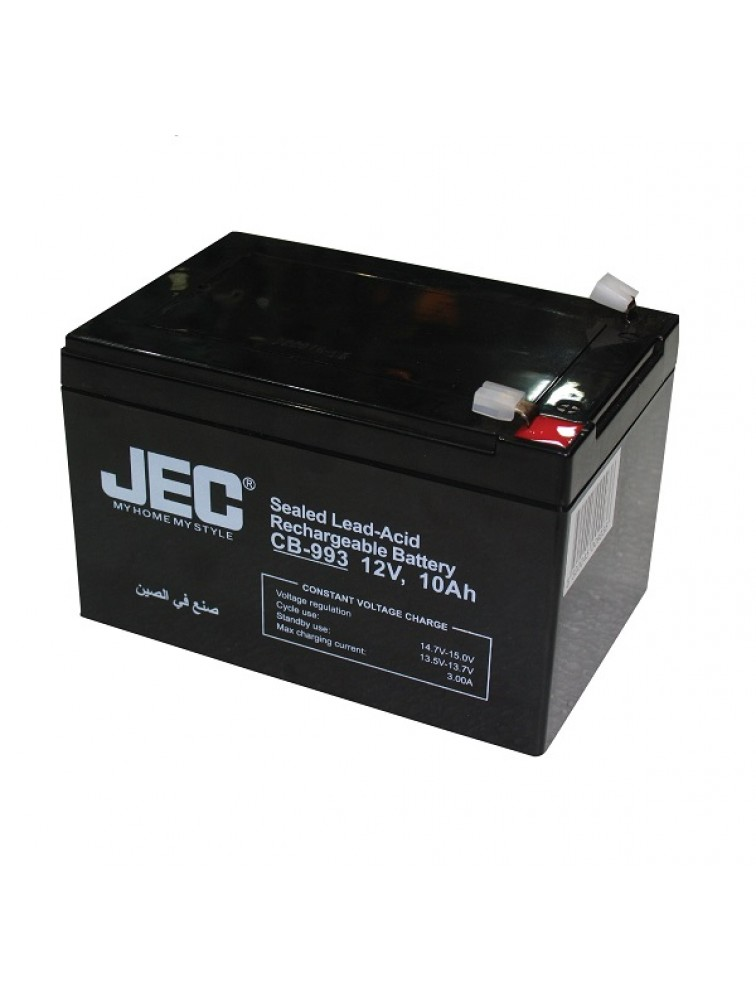 Lead acid rechargeable battery 12V 10.0Ah  CB-993