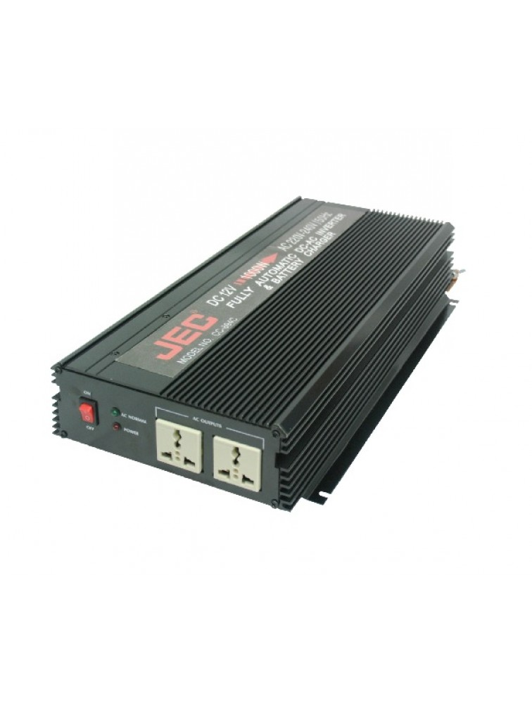 Fully automatic AC to DC & DC to AC inverter wit battery charger CC-894C