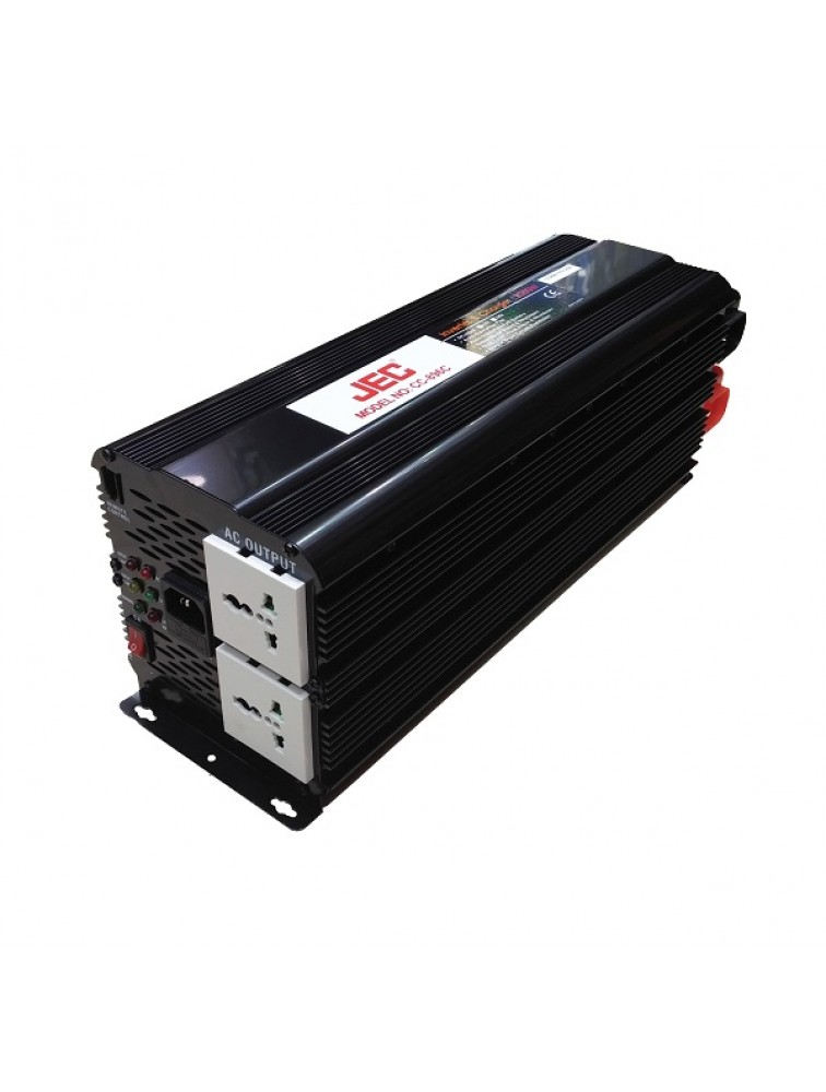 Fully automatic DC to AC and AC to DC inverter with battery charger CC-896C