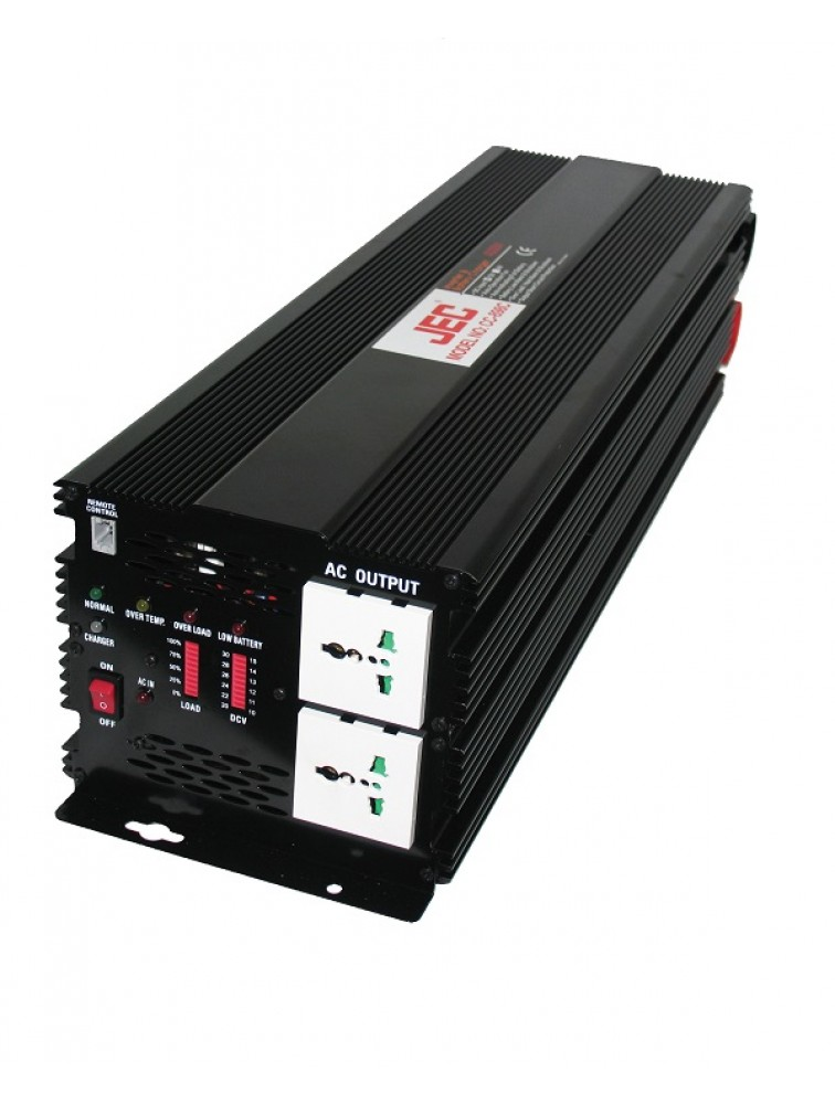 Fully automatic AC to DC & DC to AC inverter with battery charger CC-898C