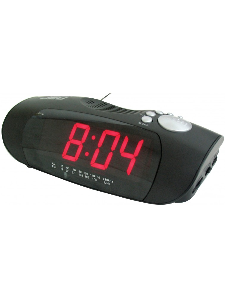 Digital Clock Radio with AM/FM LED Display alarm CLR-564