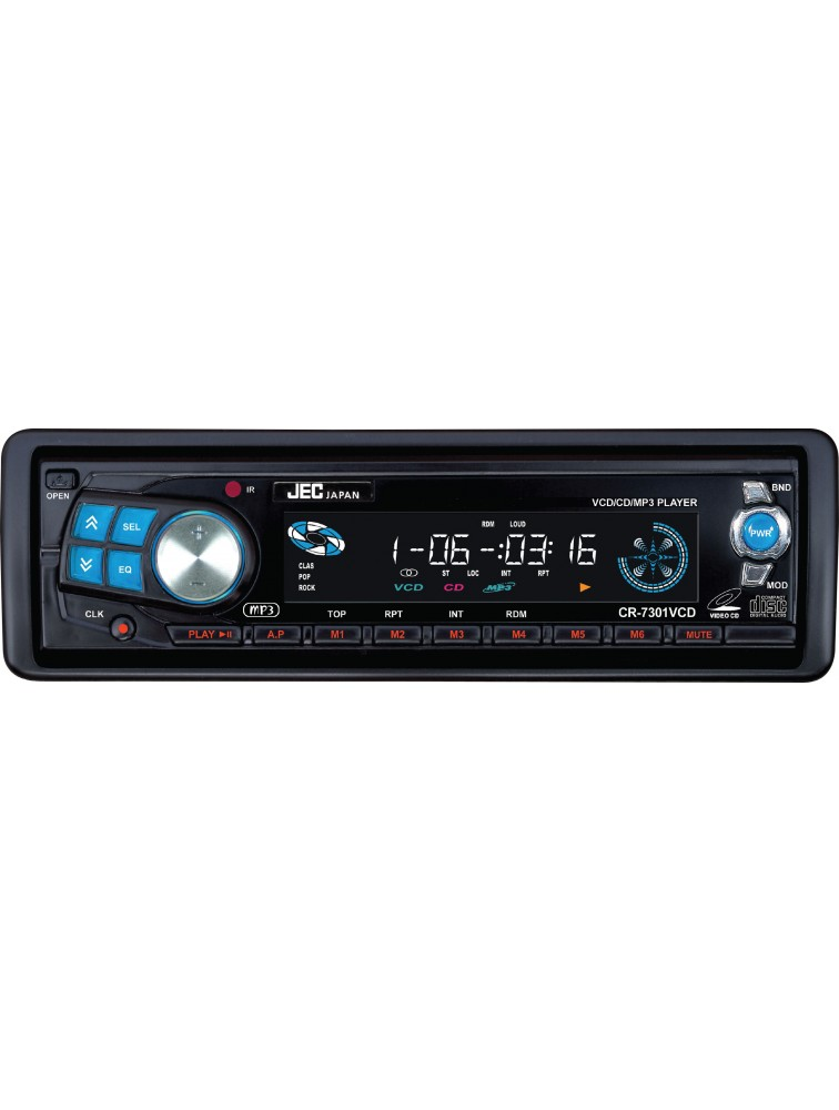 VCD/CD/CD-R/W/MP3 Compatible Auto Store/Preset Scans CR-7301VCD