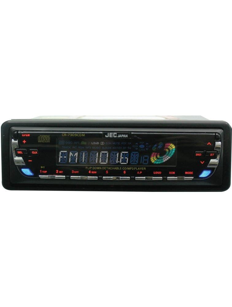 4-Channel High Power Cars Radio MP3 ,CD Player CR-7309CDM