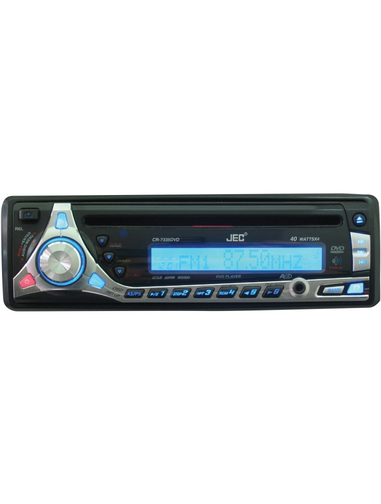 Car DVD/VCD/CD/MP3 player [CR-7335DVD]  With Full detachable front panel