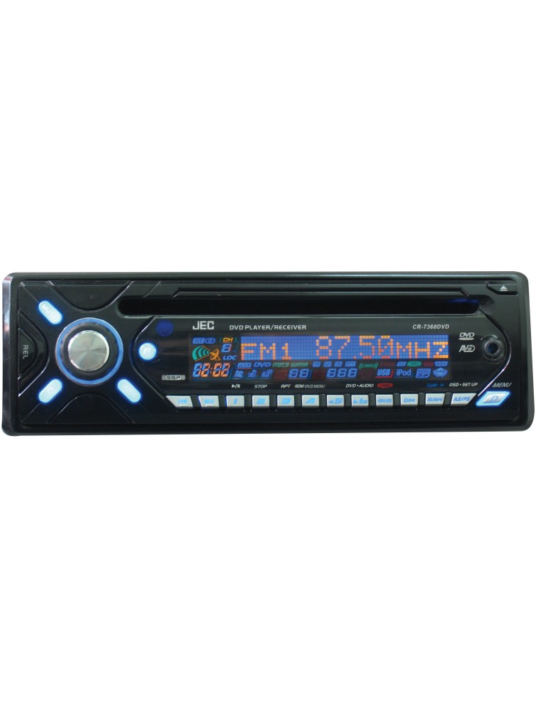 Car DVD/VCD/CD/MP3 Player  [CR-7360DVD]  with Full detachable front panel