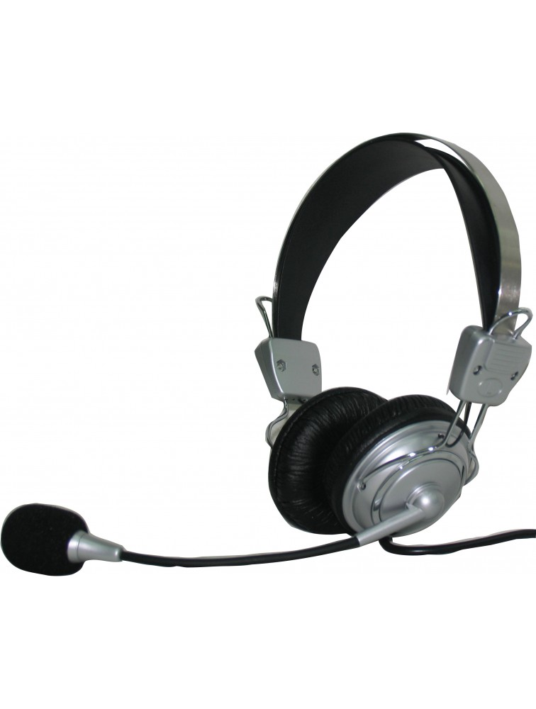 Hi-fi Deluxe Stereo Headphone With Microphone HP-1193