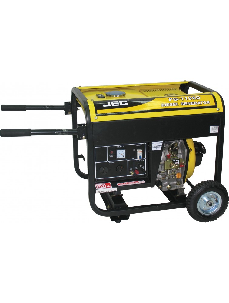 2 KVA open type) Diesel generator, Recoil start Generator PG1106D