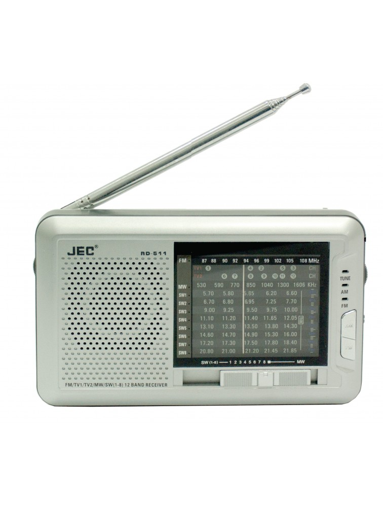 12 Band TV Radio RD-511