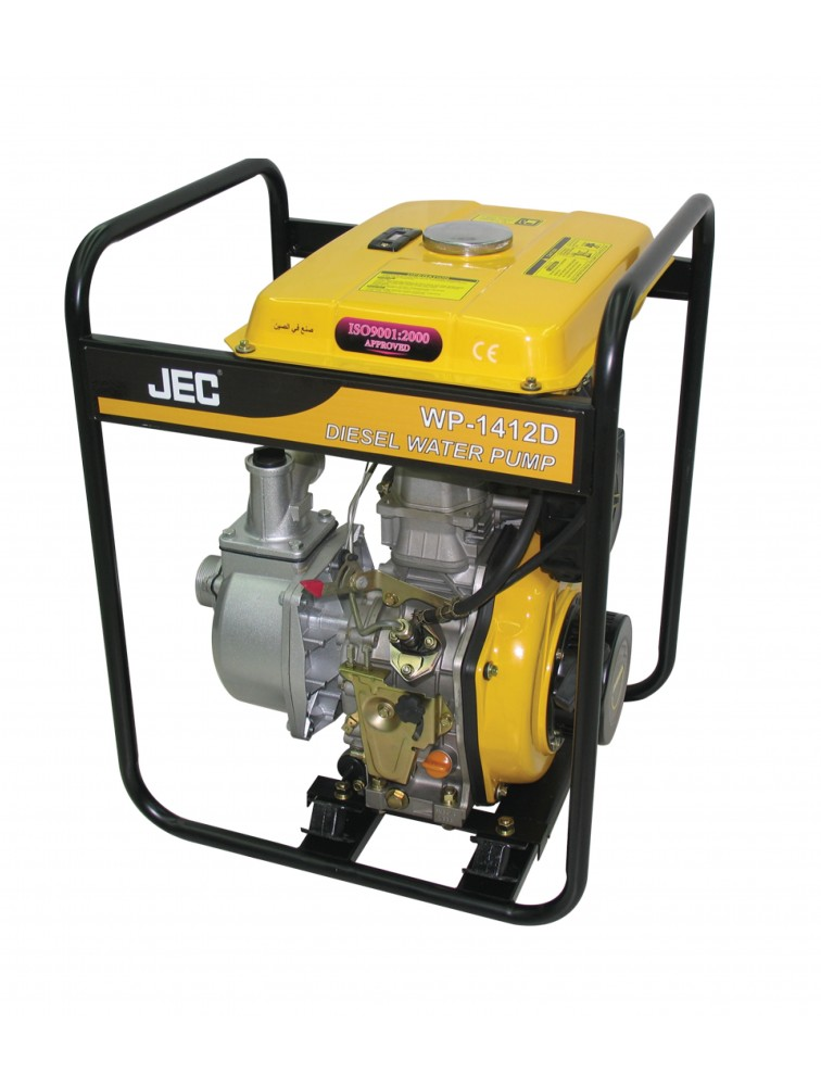 Diesel Water Pump with Big Fuel Tank WP-1412D